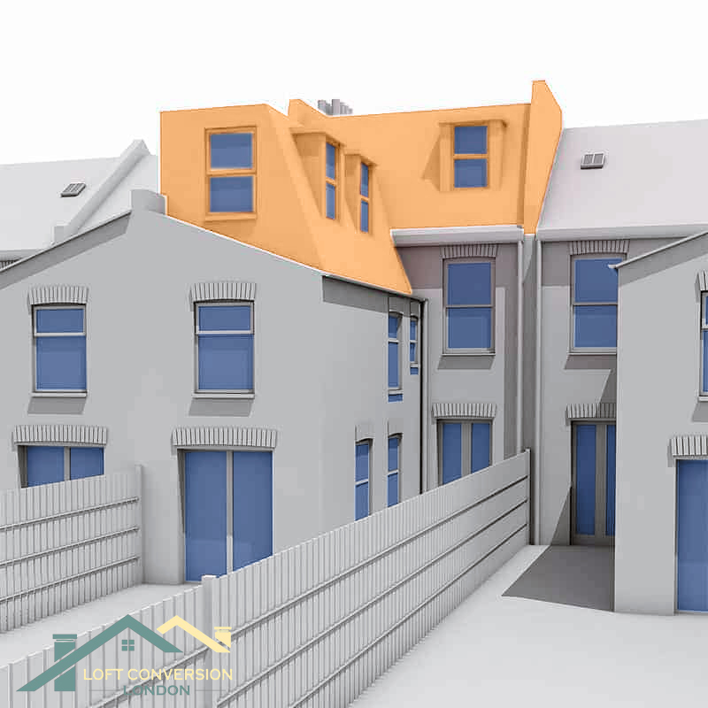 Mansard Loft Conversion Kensington